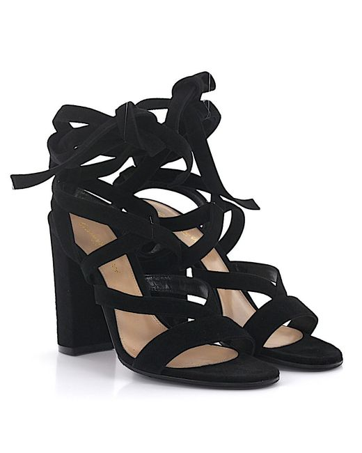 Gianvito Rossi - Black High Heels - Lyst