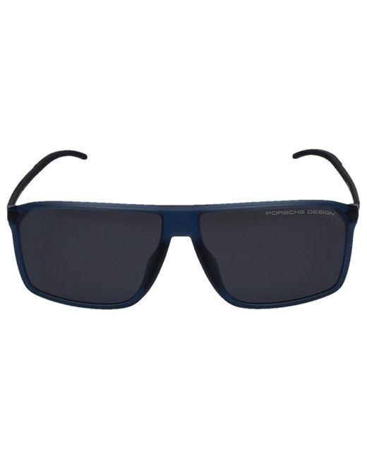 Porsche Design Sunglasses Wayfarer 8653 D Acetate Titan Blue for men