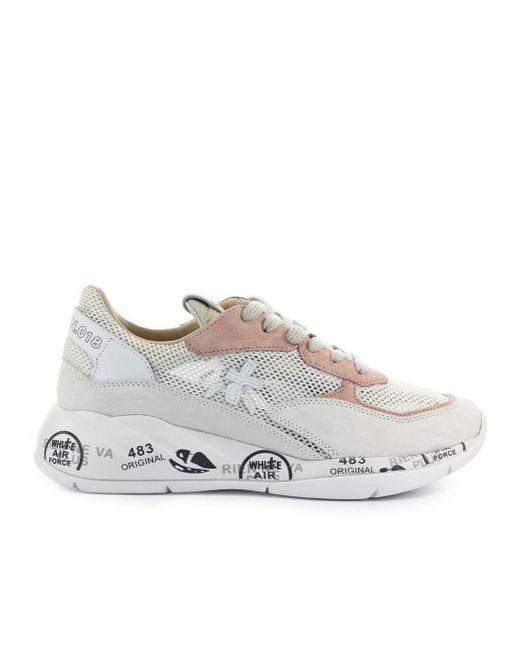 Premiata White Low-top Sneakers Scarlett