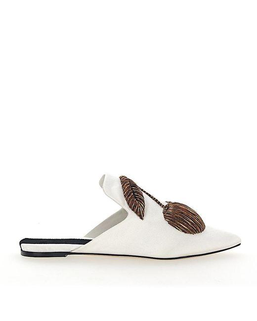 Sanayi 313 Natural Slip On Shoes 102721 Textile