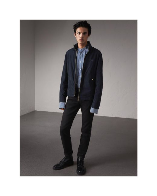 Burberry   Multicolor Lightweight Technical Jacket Ink for Men   Lyst