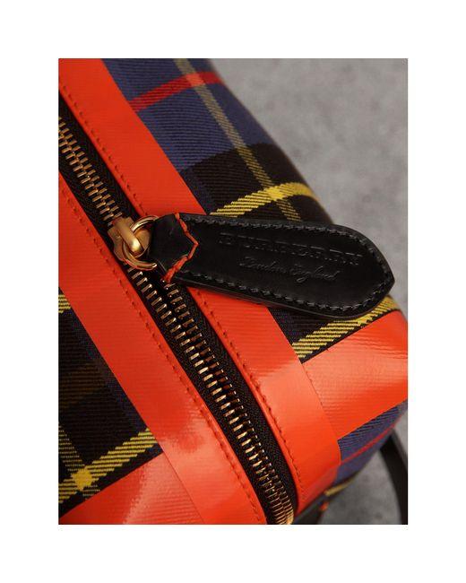 c1bc0a5859 Lyst - Pochette en coton tartan Burberry pour homme en coloris Bleu