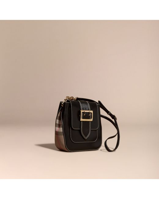 e61bbb081e54 Burberry The Medium Buckle Bag – Square In Leather And ..