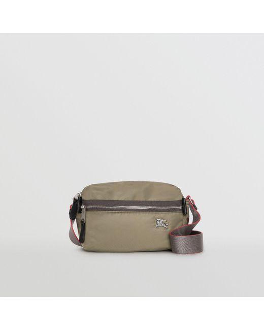 Burberry - Multicolor Ekd Aviator Nylon And Leather Crossbody Bag for Men -  Lyst ... 5481773f84a08
