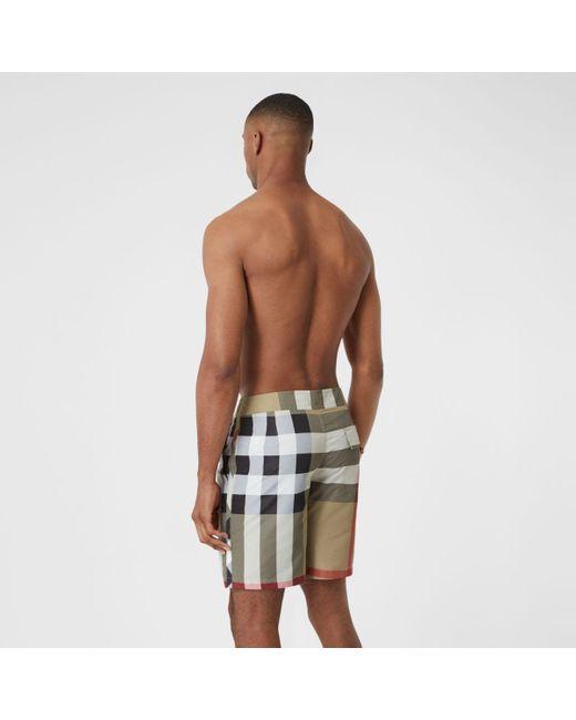 Burberry Men's Check Swim Shorts