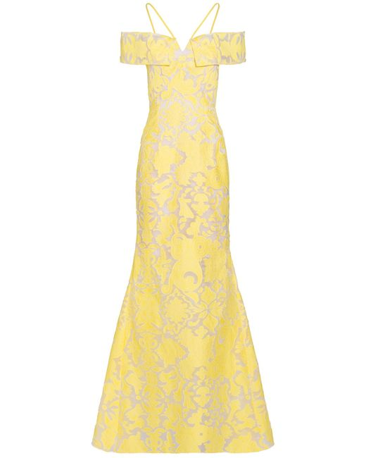 Roland Mouret | Yellow Denby Gown | Lyst