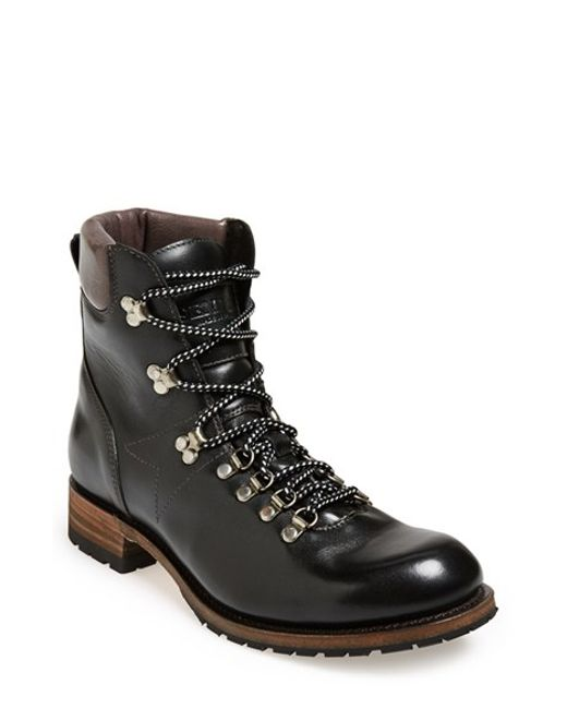 Sendra | Black 'alpine' Round Toe Boot for Men | Lyst