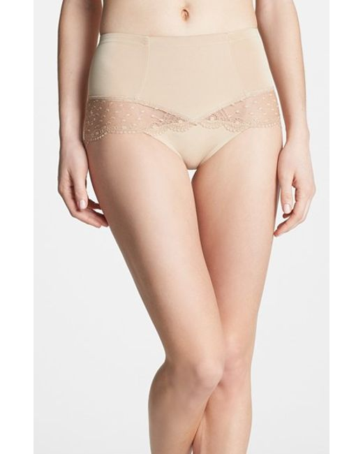 DKNY | Natural 'lace Curves' Shaping Briefs | Lyst
