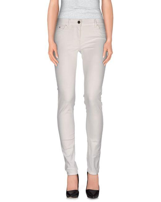 Elisabetta Franchi | White Casual Pants | Lyst