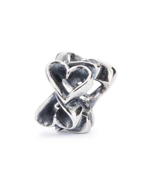 Trollbeads | Metallic Hearts Galore Bead | Lyst