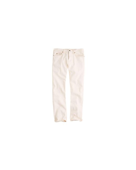 J.Crew | Natural 484 Selvedge Jean In Wheat for Men | Lyst