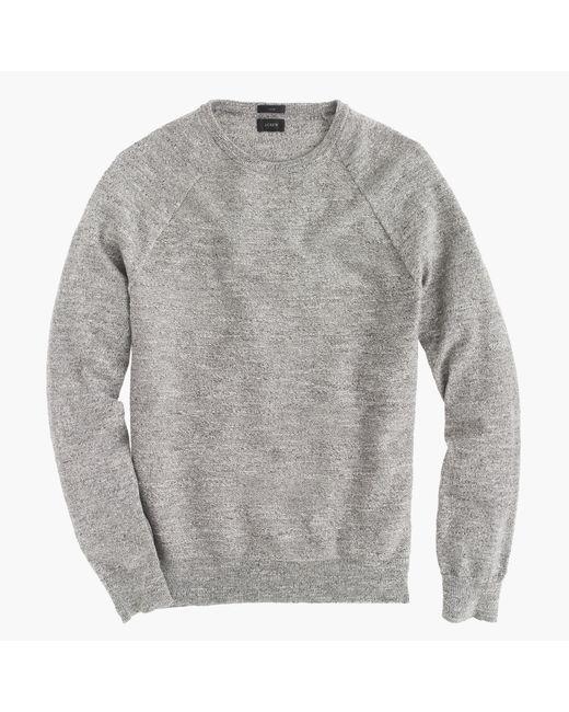 J.Crew | Gray Slim Italian Cashmere V-neck Sweater for Men | Lyst