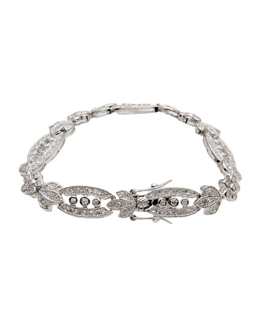 CZ by Kenneth Jay Lane | Metallic Bracelet | Lyst