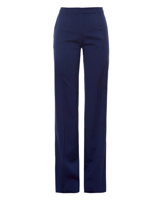 Altuzarra | Blue Tom Pinstriped Wide-leg Trousers | Lyst