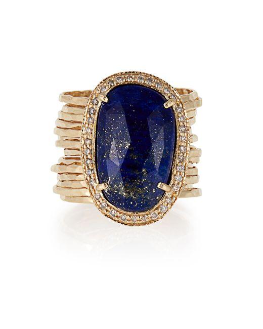 Diamond Stack Ring Jacquie Aiche