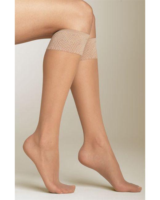 Spanx | Natural Spanx Sheer Knee Highs | Lyst