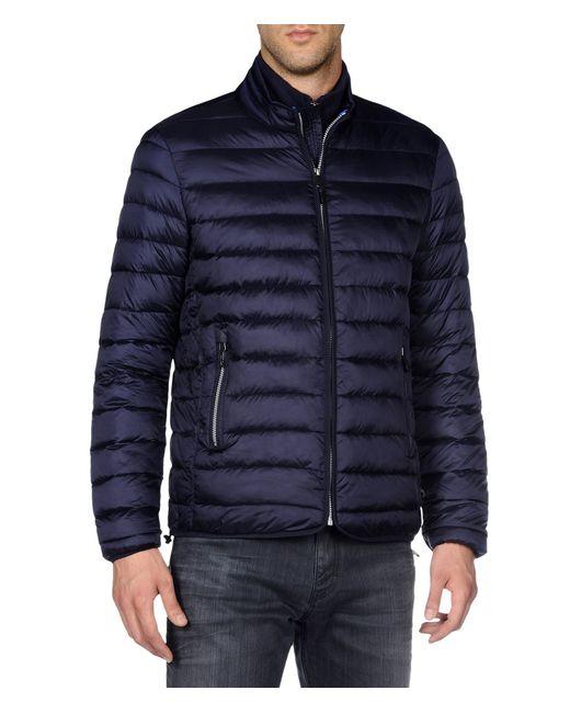 Napapijri | Blue Aerons Quilted Jacket Zip Front for Men | Lyst