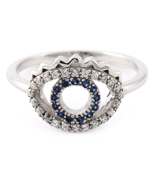 KENZO | Metallic 'eye' Ring | Lyst