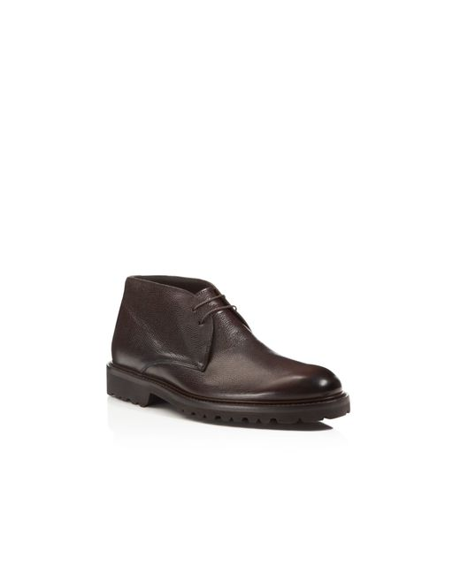 To Boot | Black Jesse Pebbled Chukka Boots for Men | Lyst