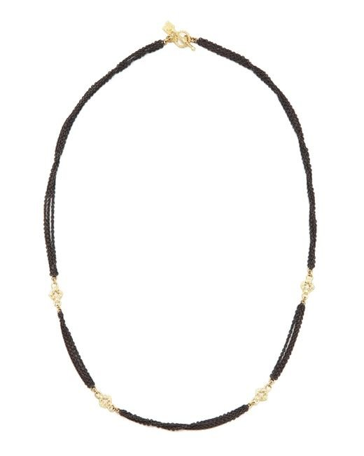 Armenta | Black Multi-chain Diamond Necklace | Lyst