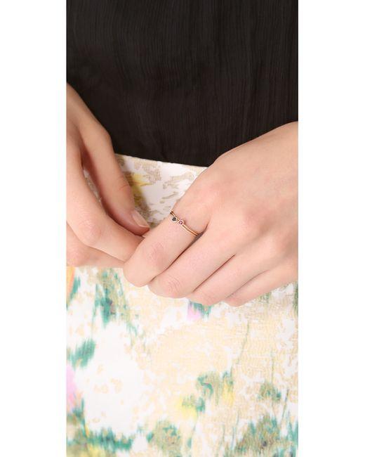 Blanca Monros Gomez | Metallic Ruby Seed Ring | Lyst