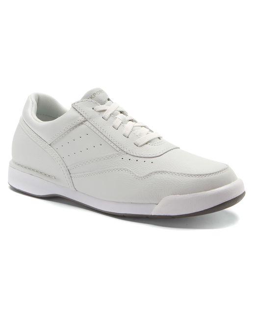 rockport prowalker in white for lyst