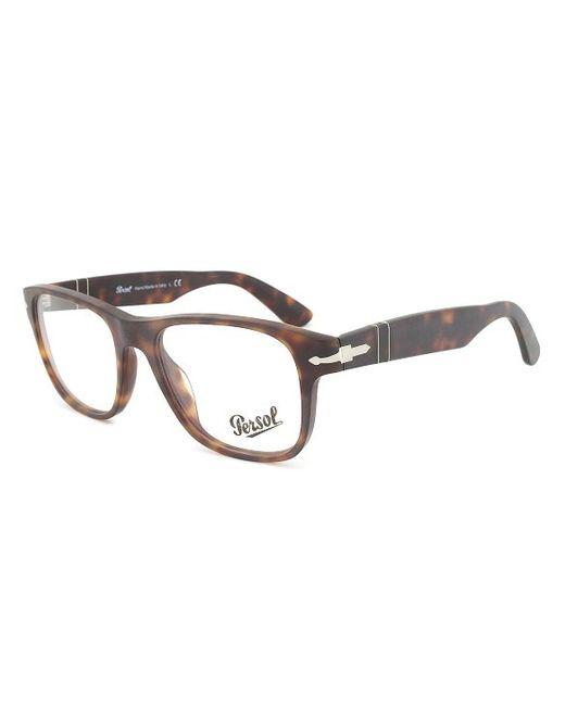 Eyeglass Frame Size 54 : Persol Po3051v 9001 Eyeglasses Frame Color Havana ...