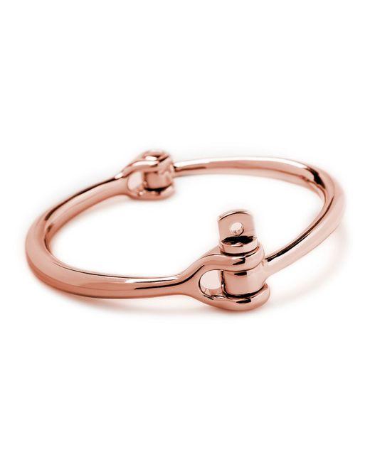 Miansai | Metallic Reeve Rose-gold-plated Bracelet | Lyst