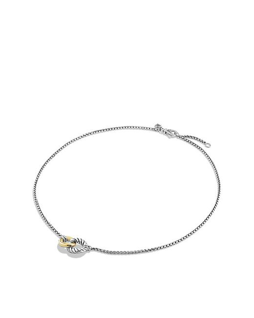 David Yurman   Metallic Necklace With 18k Gold   Lyst