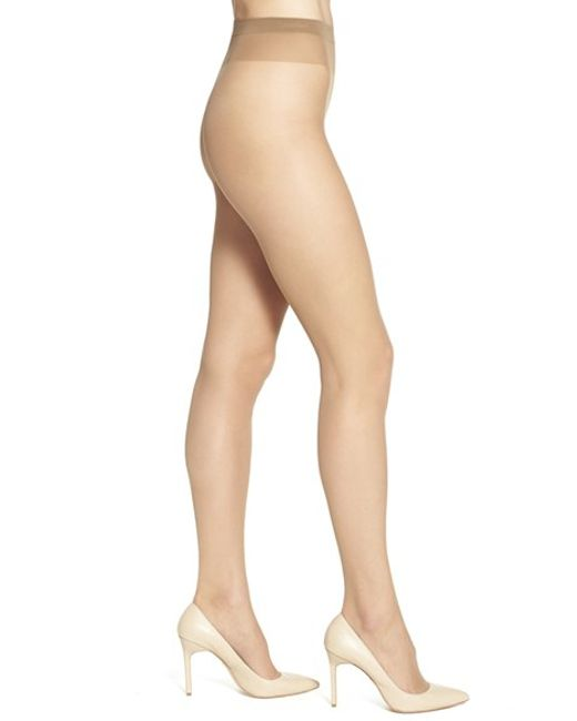 Wolford | Brown 'individual 10' Pantyhose | Lyst