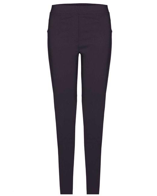 James Lakeland | Blue Plain Stretch Trousers | Lyst