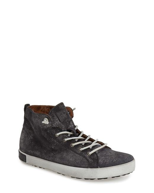 Blackstone | Gray 'Jm 02' High Top Sneaker for Men | Lyst