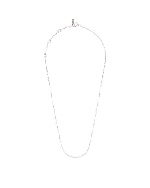 Links of London | White Silver Cable Chain (45cm) | Lyst