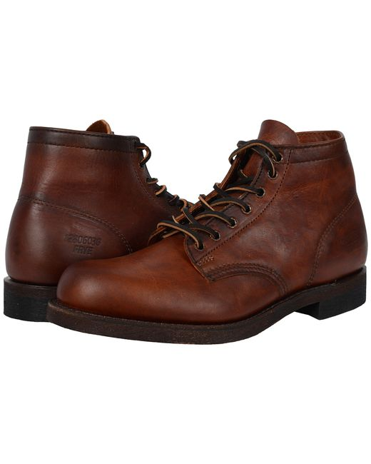 Frye   Brown Prison Boot for Men   Lyst