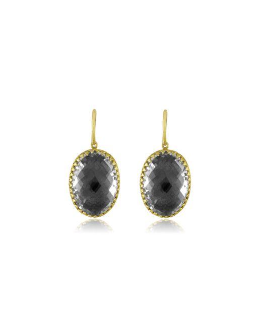Larkspur & Hawk | White Small Lily Drop Earrings | Lyst