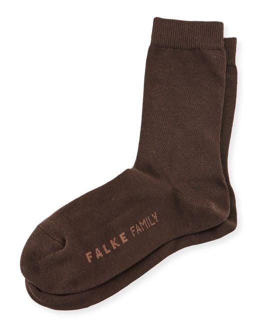 Falke | Brown Family Ankle Sock | Lyst