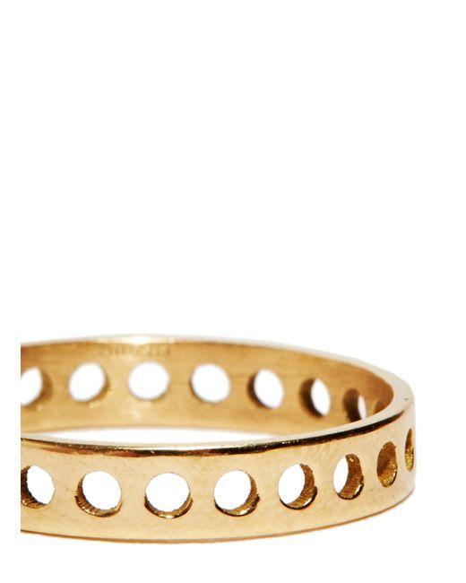 Jem | Metallic Jem Women's Voids Xxs Ring From Aw15 In Yellow Gold | Lyst