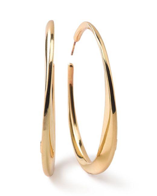 Ippolita | Metallic 18k Glamazon Heavy Bottom Large Hoop Earrings | Lyst
