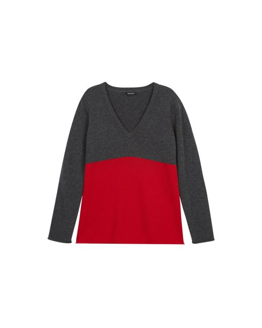 Baukjen | Gray Alina V-neck Sweater | Lyst