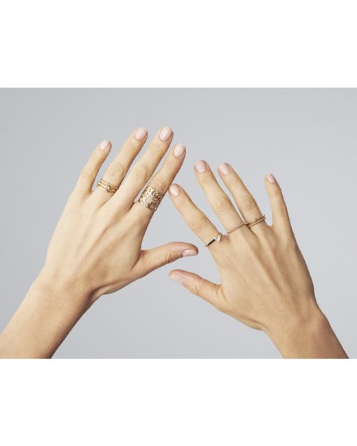 Odette New York | Metallic Amuletum Ring | Lyst