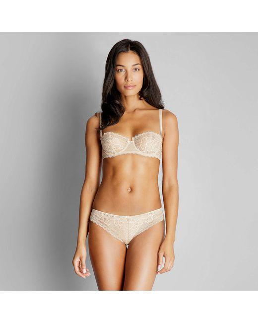 Chantelle | Natural Merci Demi Bra | Lyst