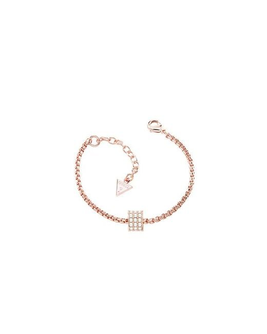 Guess | Pink G Rounds Rose Gold Bracelet | Lyst