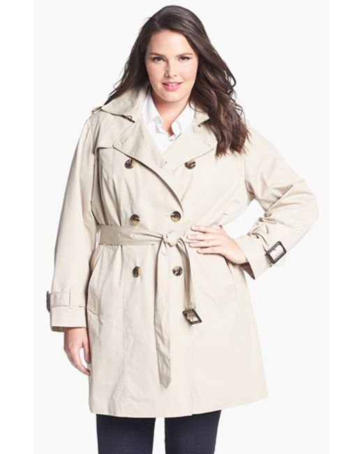London Fog | White Heritage Trench With Detachable Liner | Lyst