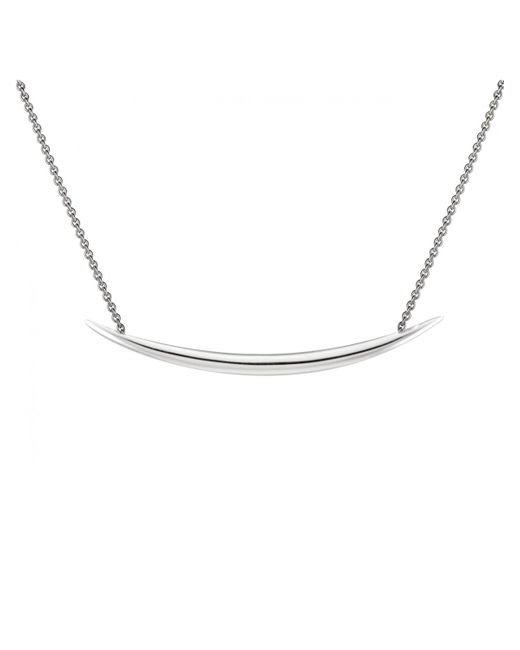 Shaun Leane | Metallic Sterling Silver Quill Necklace | Lyst