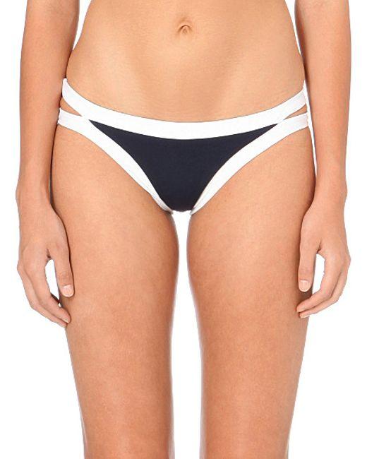 Seafolly | Blue Block Party Triangle Bikini Top | Lyst