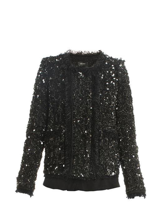 Isabel Marant   Black Hervey Sequin Jacket   Lyst