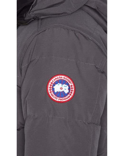Canada Goose langford parka sale official - Canada goose Carson Coyote Fur Trim Parka in Gray for Men ...