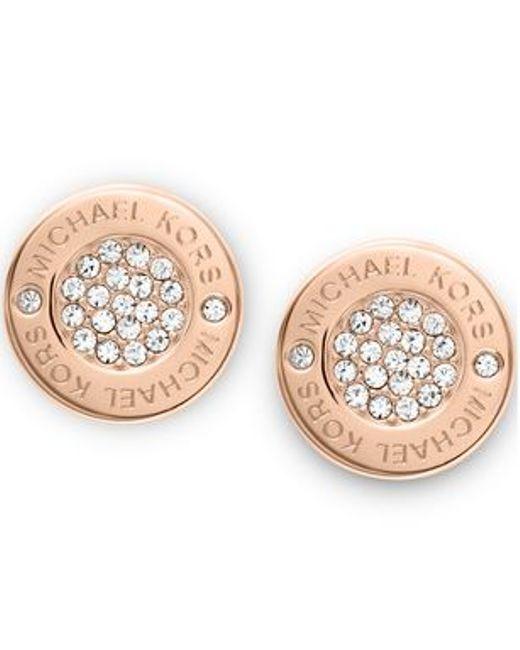Michael Kors | Metallic Mkj3353791 Womens Earrings | Lyst