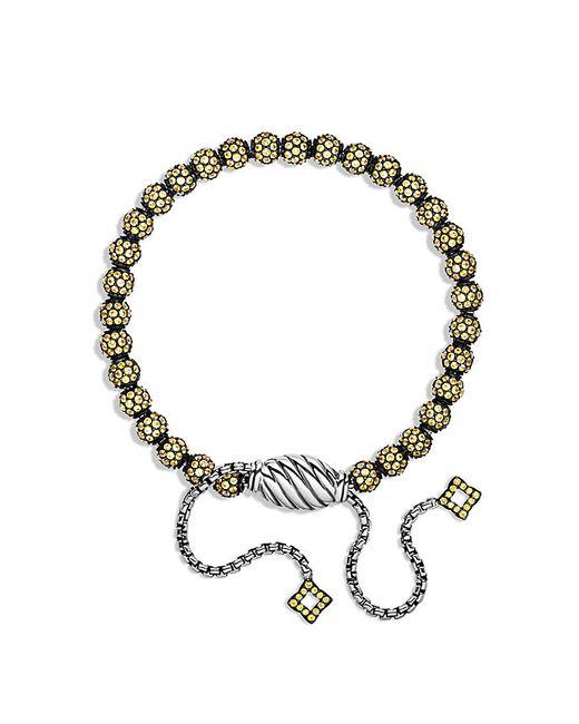David Yurman   Bracelet With Yellow Sapphire   Lyst