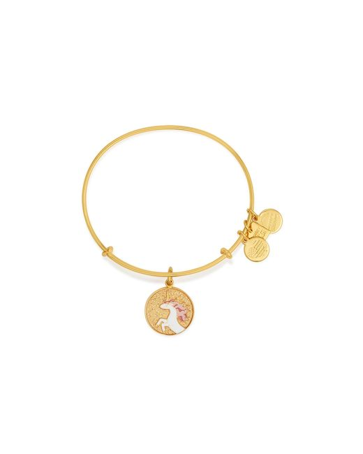 ALEX AND ANI | Metallic Unicorn Expandable Wire Bangle, Charity By Design Collection | Lyst